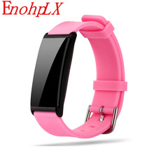 Buy EnophLX Bluetooth Smart Wristband Heart Rate Monitor Smartband Fitness Tracker Bracelet IOS Android PK Xiaomi Mi Band 2 for $19.94 in AliExpress store