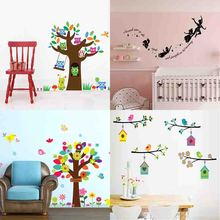 Lovely cute Cartoon wall stickers baby children home decor for kis Nursery living room  bedroom decoration