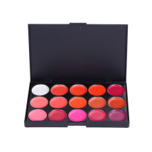 Original  High Quality 15 Colors Lip Gloss Palette Makeup Lipstick Palette Lipgloss Lips Lip Pigment Lip Palette