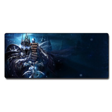 Cartoon gaming mouse pad with large size 700*300*3mm more thicker and edge locking for laptop desktop computer(China)