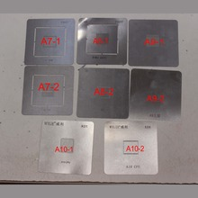 8pcs/lot high quality full set BGA Reballing Stencil dedicate kit for iPhone cpu A7 A8 A9 A10