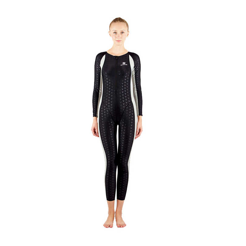 2dd73753b6 HXBY 2018 Swimwear Women Full Body Arena Plus Size One Piece Suits Swimsuit  Competitive Swimming Sharkskin
