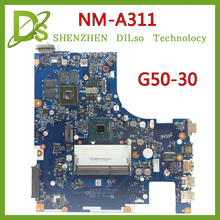 SHUOHU NM-A311 for Lenovo ACLU9 / ACLU0 NM-A311 MAIN BOARD For Lenovo G50 G50-30 Laptop Motherboard DDR3 with Processor 100% tes