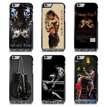 Thailand Muay Thai Cover Case for IPhone 4 4s 5 5s 5c se 6 6s 7 8 X plus Rubber TPU Silicon soft(China)