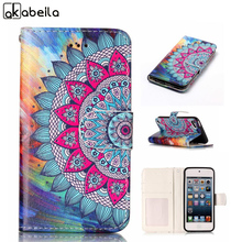 AKABEILA Mobile Phone Cases For Apple iPod Touch 5 5th 5G 6 6th Cover touch5 touch6 Case TPU Inner PU Leather Bags Skin Holster(China)