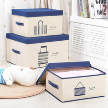 Multi-functional convenience clothing storage box / desktop grocery finishing box children's toys storage basket