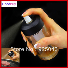 Free shipping New Glass Cooking Oil Mist Pump Bottle oil Spray Sprayer Salad Dressing Olive 25ML(China)