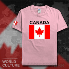 Canada Canadians t shirt men jerseys 2017 new t-shirts 100% cotton nation team fans sporting tops tees gyms clothing homme CA