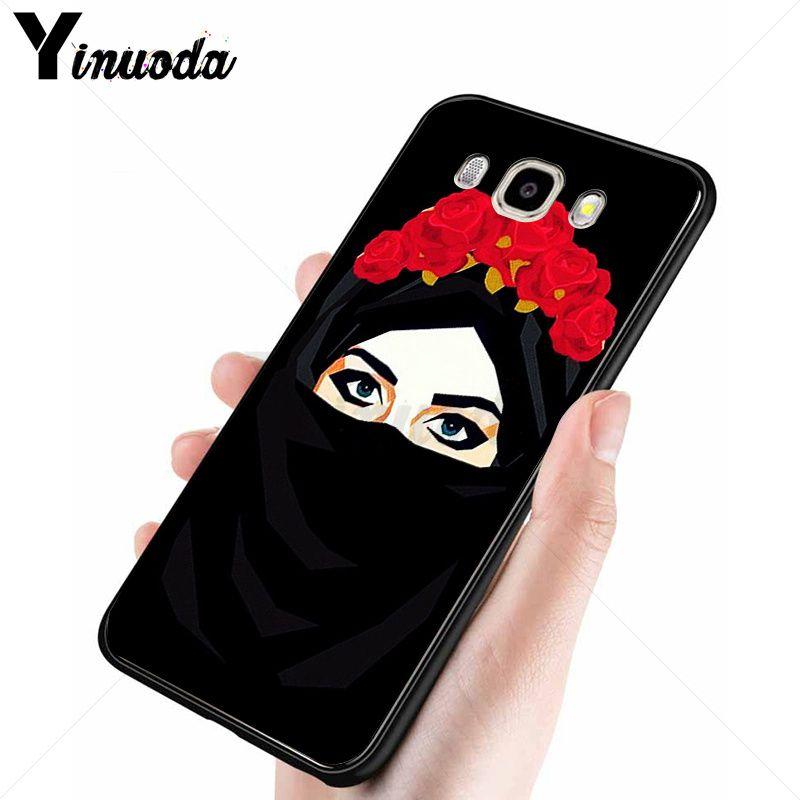 Muslim islamic gril eyes