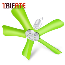 Green Pink Yellow 220V 10w remote control optional energy saving mute Electric fan Ceiling fan