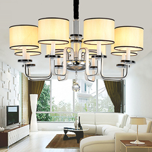 High Quality Metal Paint Modern Chandelier Living Room Bedroom Villa Chandelier Lighting Contemporary Chandelier