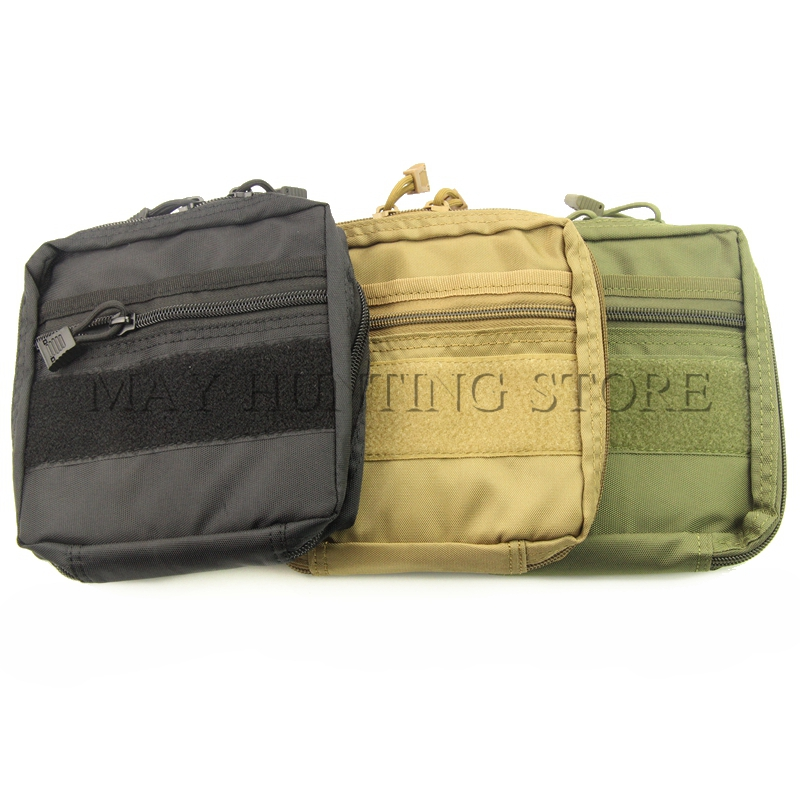High Quality Airsoft Molle Ammo Gear First Aid Kit Tactical Medical Pouch Nylon Material Wasit Bag for Outdoor Hunting(China (Mainland))