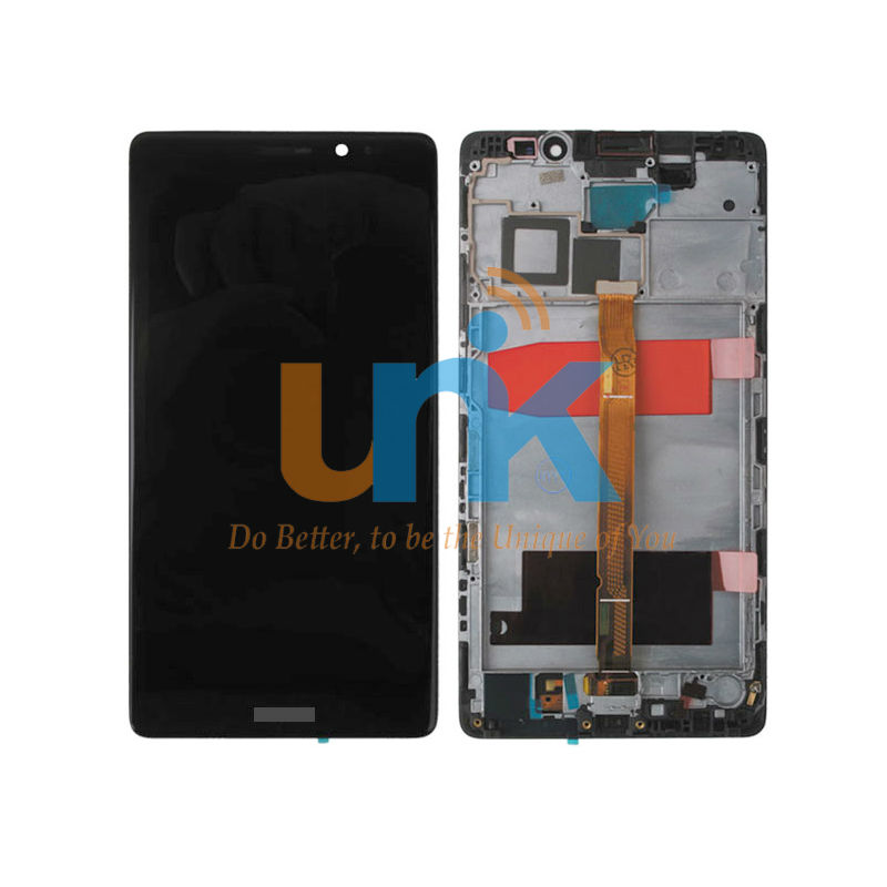 5PCS DHL For Huawei Mate 8 LCD Display+Touch Screen With Frame Original Digitizer Assembly Replacement For Huawei Mate 8<br>