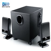 [Bio Speakers] Wired Combination Speaker for Desktop Computer Mobile Notebook Stereo Music Player USB 2.1 Bass PC Speaker