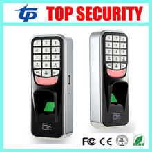 Cheap biometric fingerprint access control USB communication 500 users door access control system standalone time attendance(China)