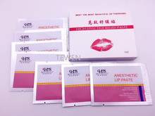 Free Shipping 12Pcs/box Lips Permanent Makeup Silk Paste Tattoo Fixed Color Products Use before Operation(China)