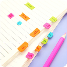 Digital date calendar PU Decorative Stickers Scrapbooking Label DIY Diary Stickers Escolar bookmark monthly yearly planner index(China)