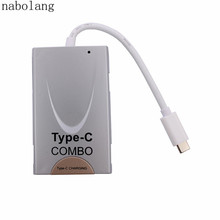 3.1 Type C Combo USB Charger Data/sync/ Charger /Hdtv/computer for Samsung Android Cellphone for Iphone and Tablet(China)