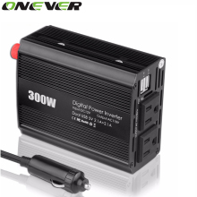 600W Peak Power Inverter 300W Pure Sine Wave Inverter 12V to 110V 60HZ AC Pure Sine Wave Power Inverter Car Voltage Converter
