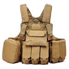 New Tactical Vest Molle CIRAS Airsoft Combat Vest W/Magazine Pouch Releasable Armor Plate Carrier Strike Vests Hunting Clothes(China)