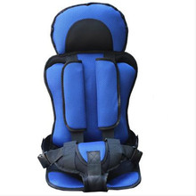 1-12 Years Old Child Car Seat Portable Baby Car Seats For Travel 9-36kg Thickening Sponge Kids Car Seats Siege Auto Enfant(China)