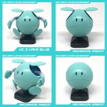 6 colors HG MG Gundam Hobby Series SD Mechanical Mascot Flash Lights HARO Model building Kit(China)