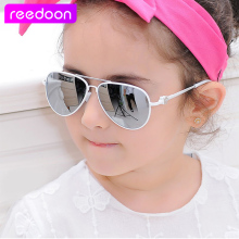2016 New Fashion Children Sunglasses Boys Girls Kids Baby Child Sun Glasses Goggles UV400 mirror glasses Wholesale Price 2611(China)