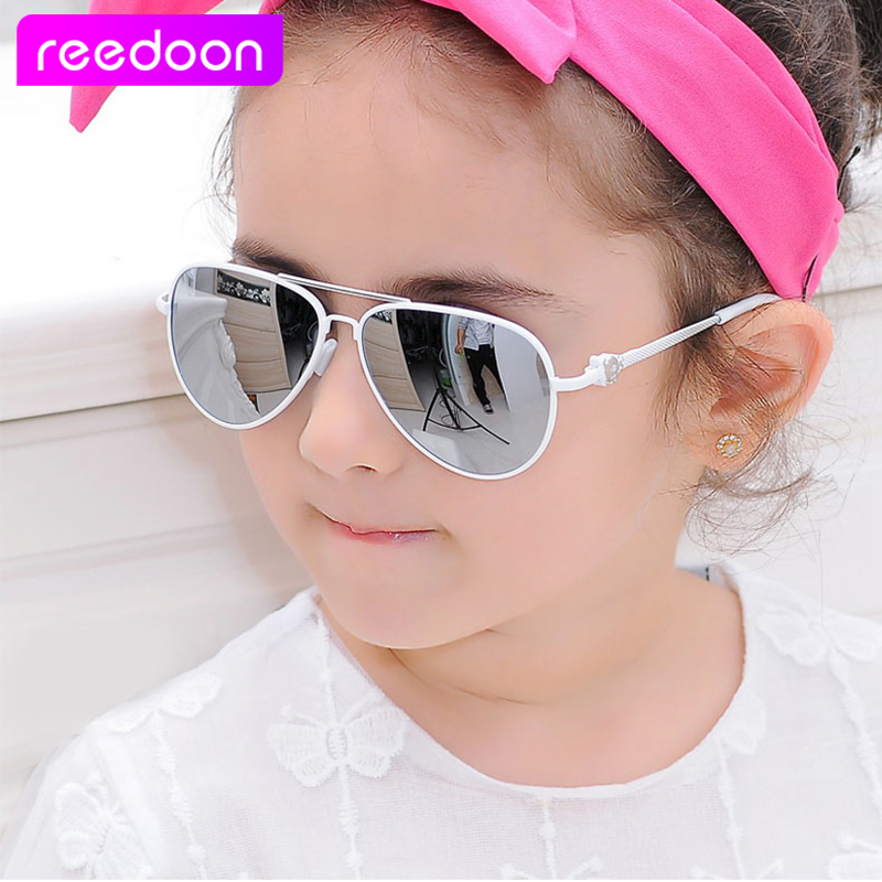 2016 New Fashion Children Sunglasses Boys Girls Kids Baby Child Sun Glasses Goggles UV400 mirror glasses Wholesale Price 2611(China (Mainland))