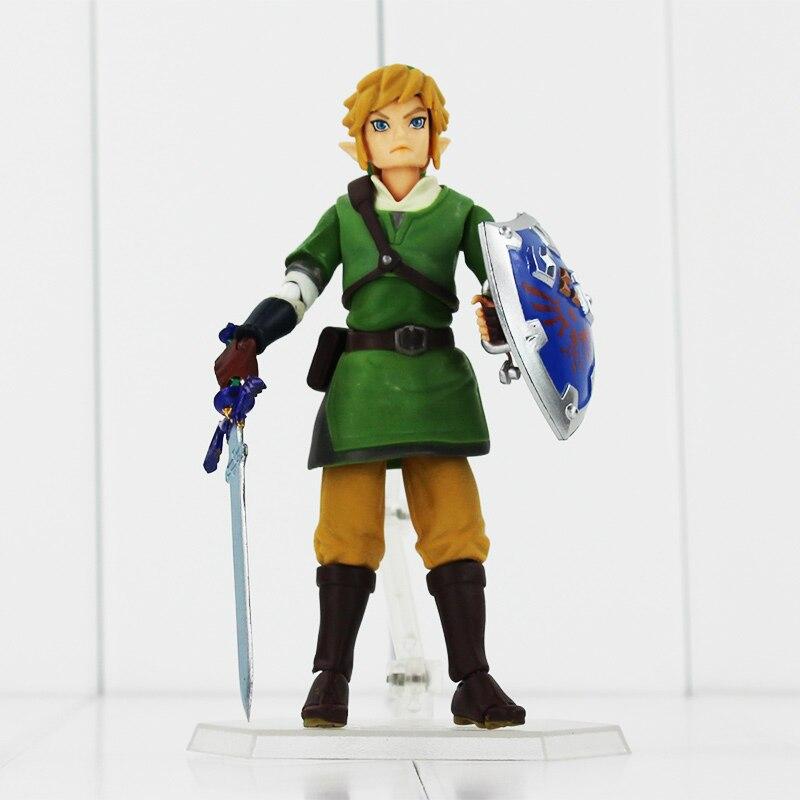 Link Zelda Legend of Zelda Skyward Sword Action Figures14cm Anime PVC brinquedos Collection Model Toys XMAS Gift<br><br>Aliexpress