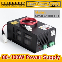 80-100W CO2 Laser Power Supply for CO2 Laser Engraving Cutting Machine MYJG-100 LED