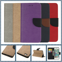 Luxury Colors Flip Leather Phone Bag Cases for iPhone 6 7 6S Plus 5 5S SE Card Slots + Stand Protection Holster Back Cover Case