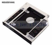 NIGUDEYANG 2nd Hard Disk Drive HDD SSD Frame Caddy Adapter for Dell Vostro 3700 3750 3500