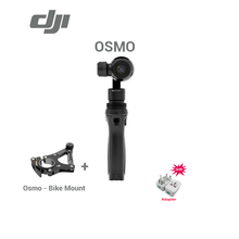Freeshipping original DJI Osmo Handheld 4k camera with Bike Mount and 3-Axis Gimbal Aerial Photography brand new In stock