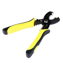 "Multifunctional 8"" Wire Stripper Cable Cutting Scissor Stripping Pliers Cutter 1.6-4.0mm DIY Hand Tools Ferramentas Herramientas(China)"