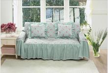 Pastoral floral jacquard printing lace   anti-skid  Sofa  slipcover couch cove 1 piece price 10 colours free ship
