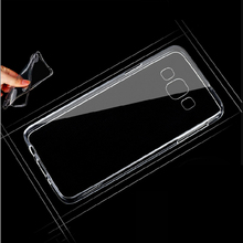 Ultra Thin Transparent Clear TPU Case For Samsung Galaxy Ace 4 NXT G313 G313H Crystal Back Protect Rubber Silicone Phone Case(China)