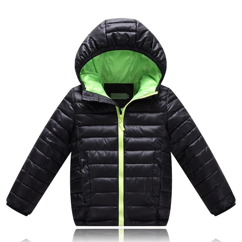 Kids Winter Jacket 3 to 12 Years Girls Winter Coats Hooded Boys Winter Coat Long Sleeve Boys Winter Jacket WindProof Children<br>