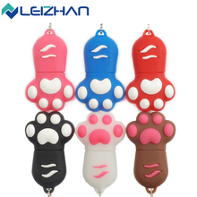 Hot Sale Cartoon 16GB Cat's Claw USB Flash Drive 4GB 8GB USB Stick Memory Pen Drive 64GB 2.0 Computer Memory Stick U Disk