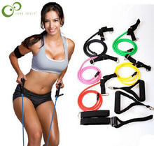 Fitness Resistance Bands Resistance Rope Exerciese Tubes Elastic Exercise Bands for Yoga Pilates Workout Free Shipping