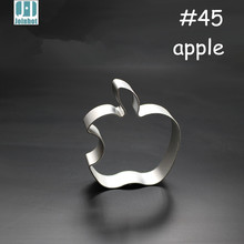 Retail 1pc apple Shape Metal Cookies Cutter Aluminum alloy Material Tools
