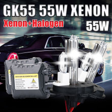 55W xenon H4 HID KIT H4-2 HALOGEN and xenon kit 4300k 5000K 6000k 8000k 10000k  kit xenon lamp H4 xenon