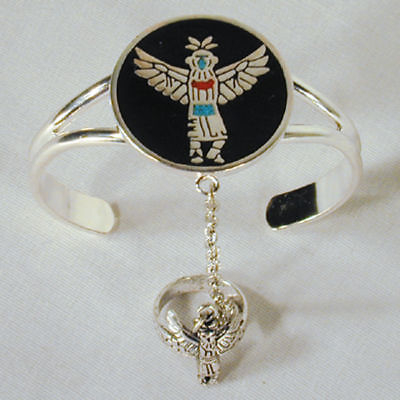 DANCING NATIVE lady SLAVE BRACELET jewelry  braclet #81