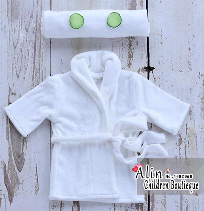 Cotton Baby Rompers Newborn Bathrobes Photo Prop,New born Baby Clothes Fotografia Pajama,#P2136
