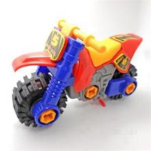 1PCS New Vehicles Intellectual Motorcycle Toy Intelligence Funny Toys Developmental Diecast for Kids Portable Toy(China)
