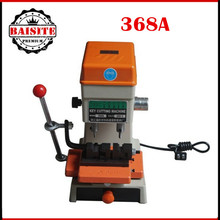 2016 Best Offer 368A Key Cutting Duplicated Machine Locksmith Tools Key Machine 200W car key cutting machine low prices(China)