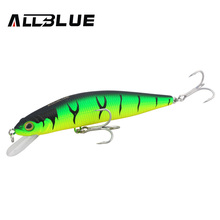 ALLBLUE Brand Fishing Lures 27.5g/125mm 6Colors Short Lips Minnow Wobblers Big Game Fake Lure Bait Isca Artificial Owner Hooks(China)