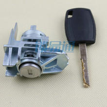 Car Left Door Lock Cylinder Auto Door Lock Cylinder for Ford Focus locksmith tool(China)