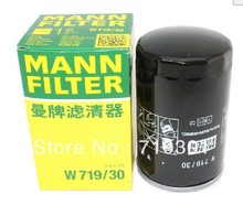 Hot sales, free shipping fee MANN oil filter W719/30 germany
