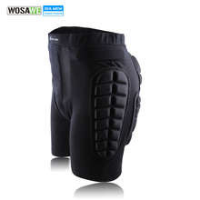 WOSAWE 2017 Unisex Moto Sports Protective Gear Hip Pad Motorcross Off Road MTB Bike Skating Ski Hockey Armor Shorts