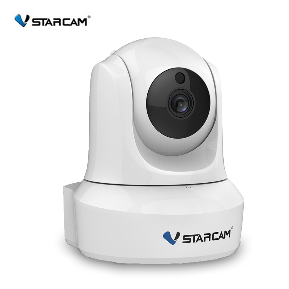 VStarcam Indoor HD WiFi Video Surveillance Monitoring Security Wireless IP Camera with Two Way Audio IR Night Vision Pan Tilt<br>